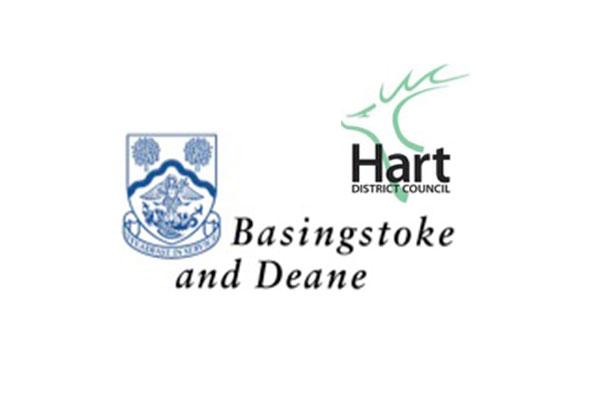 Hart and Basingstoke Councils